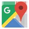 google mapa logo
